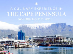 A culinary experience in the cape peninsula Africa - June 30-Jul 11, 2020
